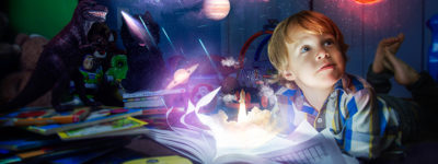 Books build imagination
